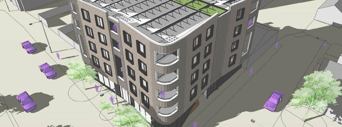 Wheatsheaf Pub Site – 13 unit scheme