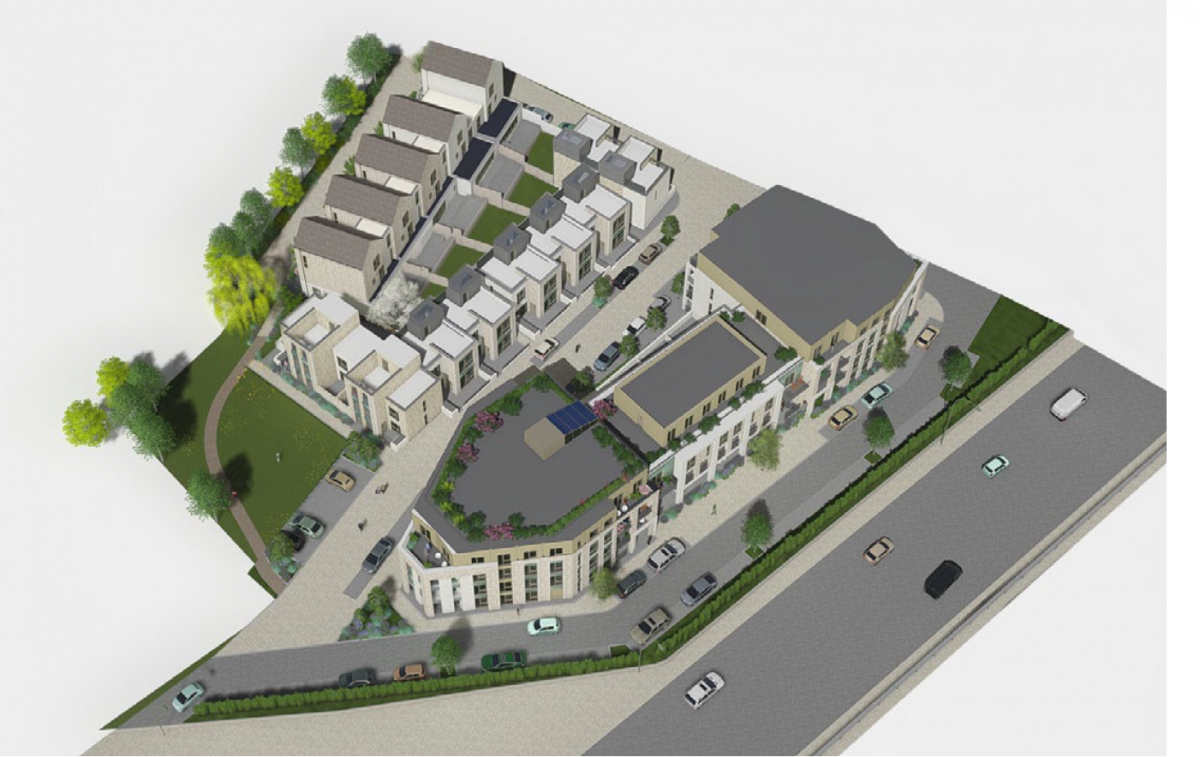 Private development transformed into affordable housing