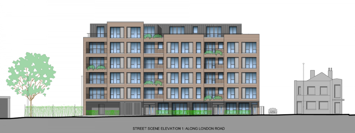Bramble and Hexagon gain planning for 30 new units on Thornton Heath