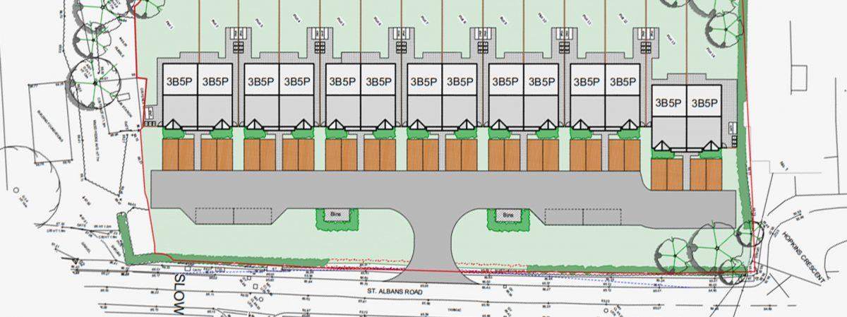 New scheme in Sandridge St Albans